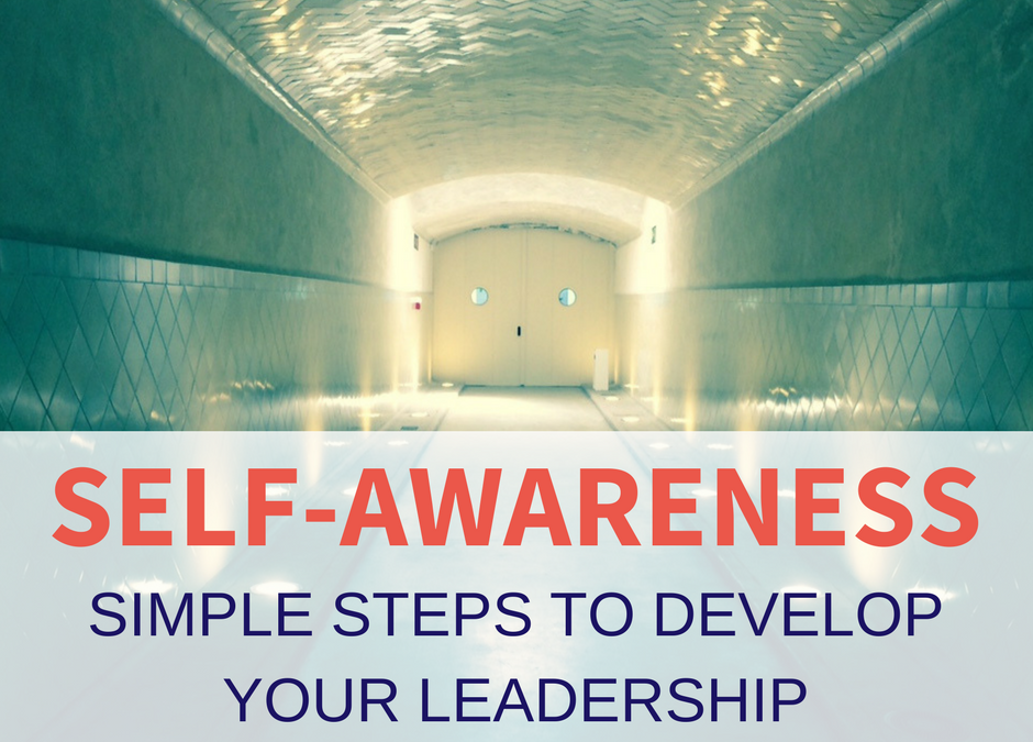 self-awareness to develop leadership