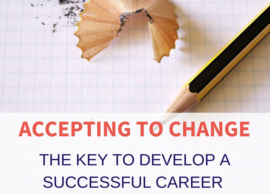 accepting to change as a leader for a successful career
