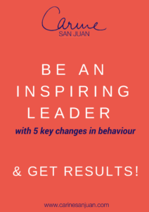 be an inspiring leader with 5 key changes in behaviour