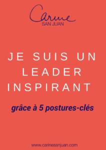 etre un leader inspirant en 5 postures clés