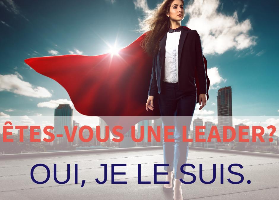 je suis une leader