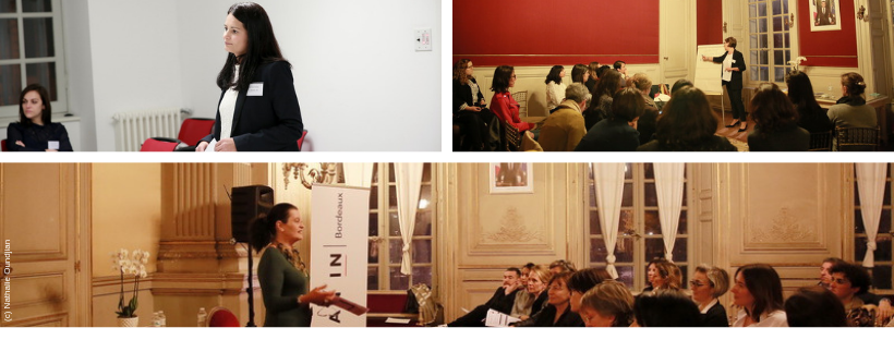 Lean IN Bordeaux conference journee de la femme 2019 atelier